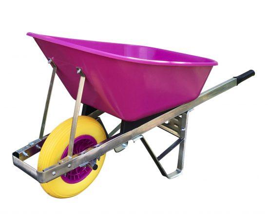 120L pink single wheel