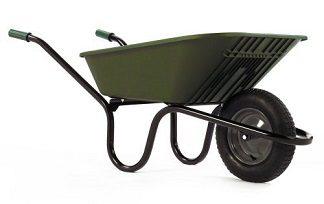 lightweight-wheelbarrow-5000-go 90L haemmerlin green